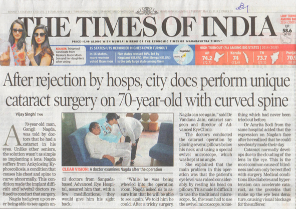 Best of Cataract Surgery in Navi Mumbai, India – Overcoming the challenges and innovating on the way