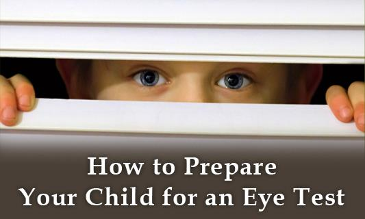 How to Prepare Your Child for an Eye Test