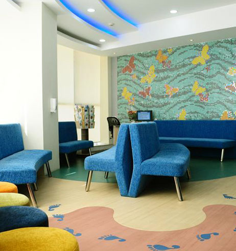 Outpatient waiting area
