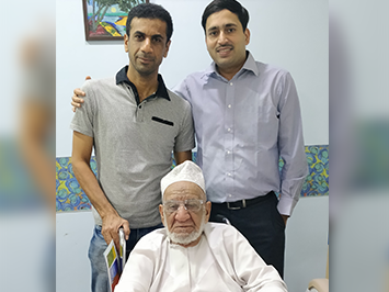 Mr. Suwaid Ali Ahmed from UAE, Oman got operated for Left eye Cataract surgery on 20th April 2018 by Dr Rajesh Mishra