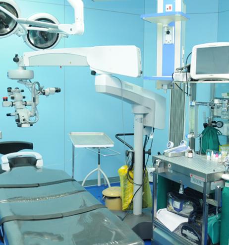 Eye Surgery Operation Room