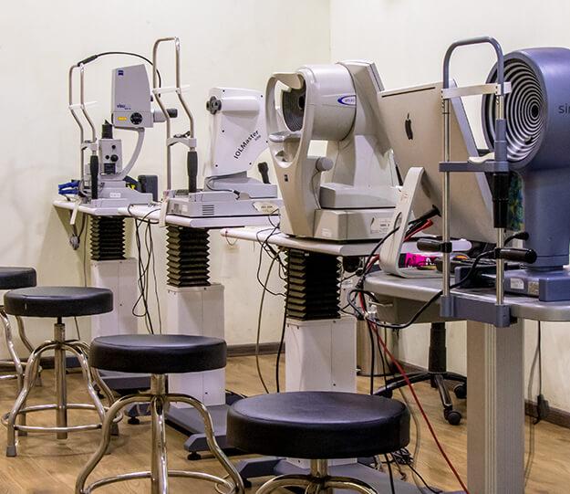 Anterior Segment Diagnostic Room