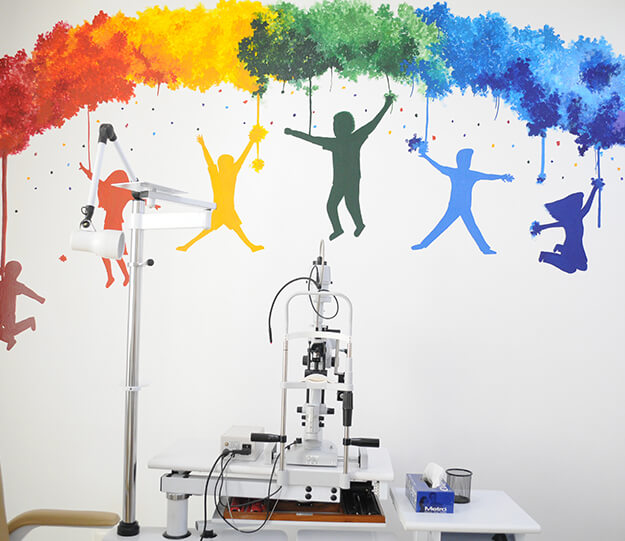 Child Eye Consulting room