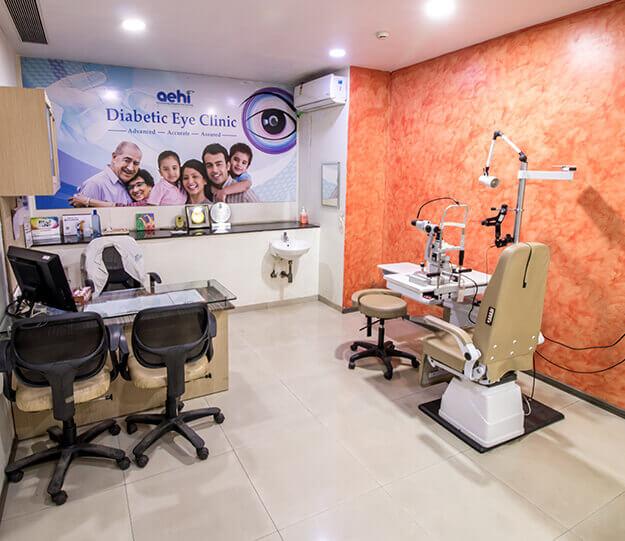Retina consulting room- AEHI